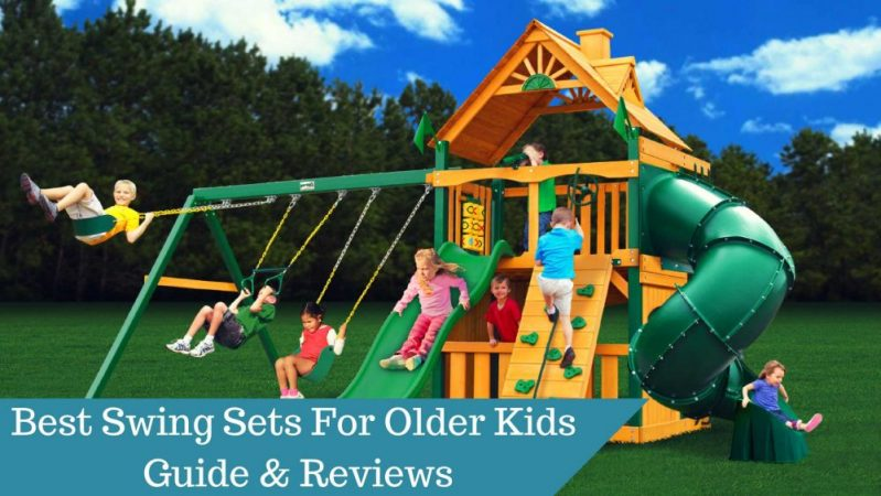 Best Swing Sets For Older Kids In 2018 – Guide and Reviews