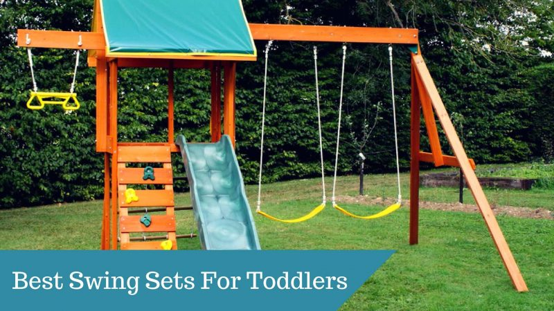Best Swing Sets For Toddlers In 2018 – Guide and Reviews