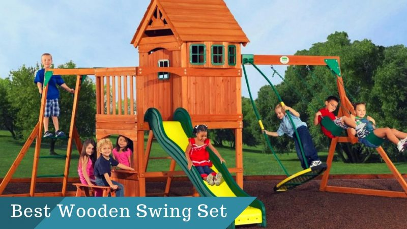 Best Wooden Swing Sets For Your Baby In 2018 – Guide and Review