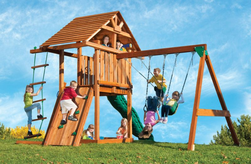 Playing it Safe on Swing Sets for your Children
