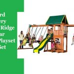 Backyard-Discovery-Prairie-Ridge-All-Cedar-Wood-Playset-Swing-Set