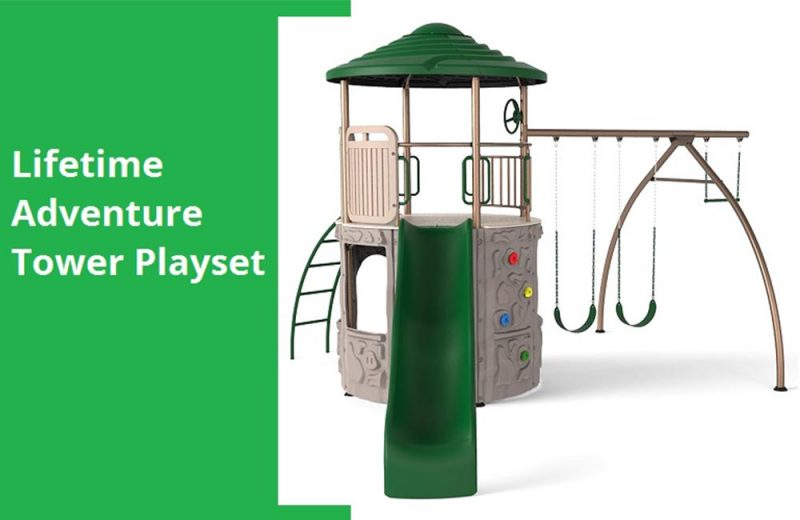 Lifetime Adventure Tower Playset Review