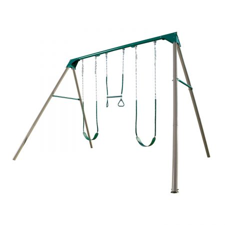 Lifetime-Heavy-Duty-A-Frame-Metal-Swing-Set