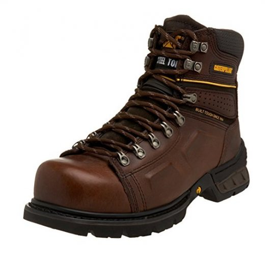Caterpillar Mens Endure Superduty Steel Toe Boot