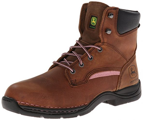 John Deere Womens JD3612 6 iNch Steel Toe Hiker Boot