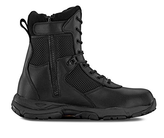 Maelstrom LANDSHIP 8 Inch Military Tactical Boots with Zipper