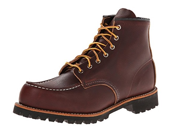 Red Wing Heritage Mens 6 Inch Moc Toe Lug Boot