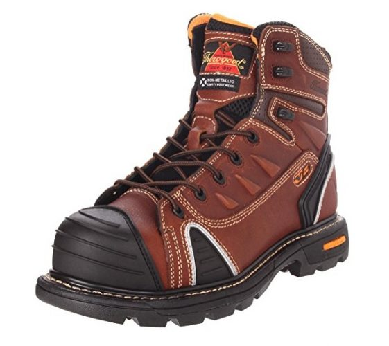Thorogood Mens Composite Safety Toe Gen Flex Work Boot