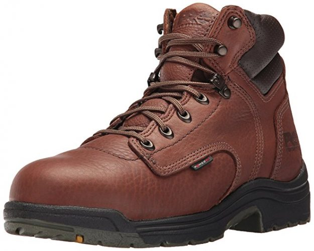 Timberland PRO Mens Titan 6 Inch Safety Toe Boot