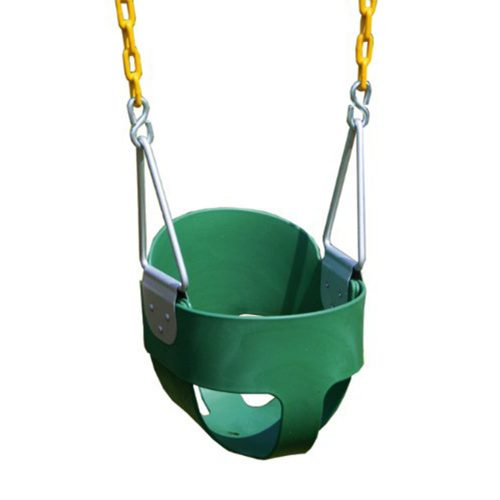 Eastern Jungle Gym Heavy-Duty High Back Full Bucket Toddler Swing Seat