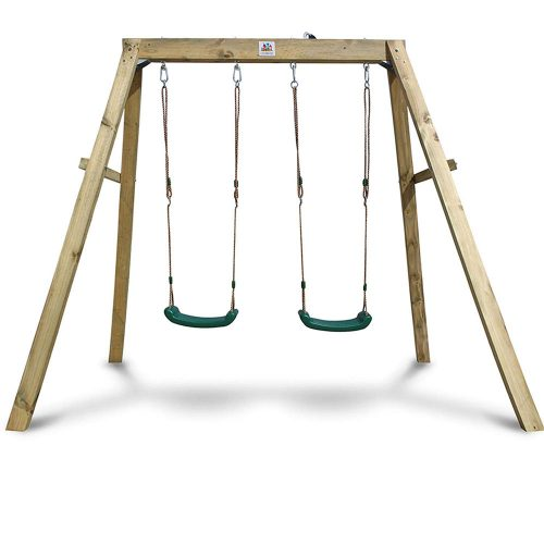 Outward Play Holt Wooden A-Frame Two Seat Swing Set