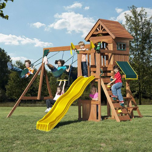 Swing-N-Slide WS 8328 Jamboree Fort Play Set